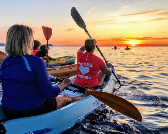 kayak laigueglia
